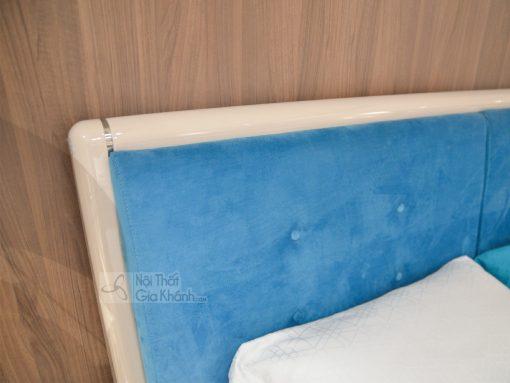 Giường Bọc Nỉ Hiện Đại Đẹp Nhập Khẩu 3320Al+3306L