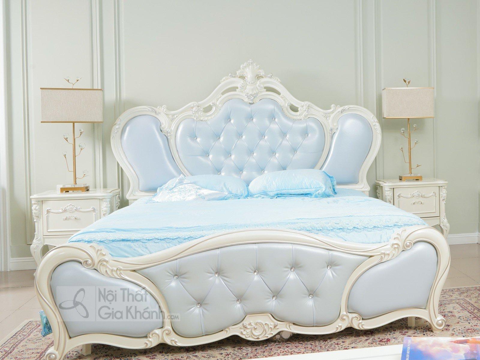 Giường Ngủ Tân Cổ Điển Nhập Khẩu H8809Al