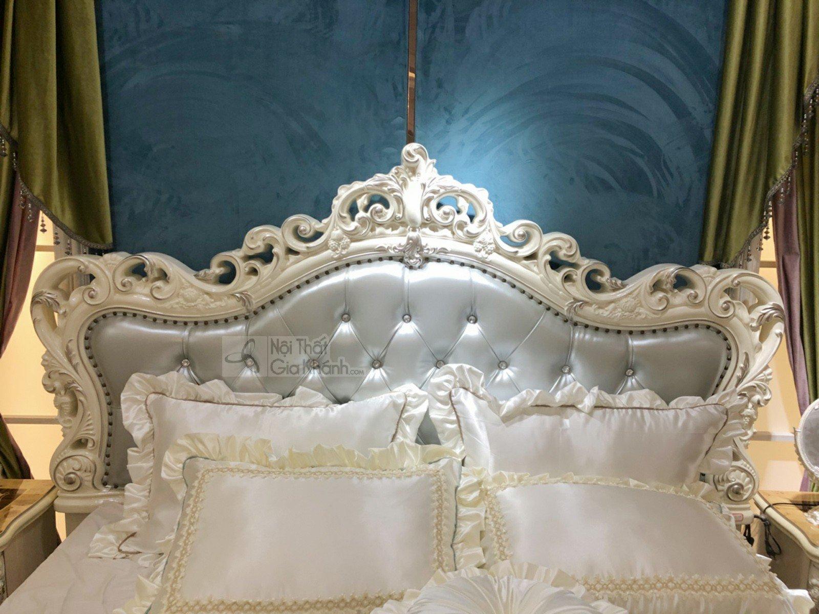 giuong ngu tan co dien phong cach phap gi8803h 2 - Giường ngủ tân cổ điển phong cách Pháp GI8803H