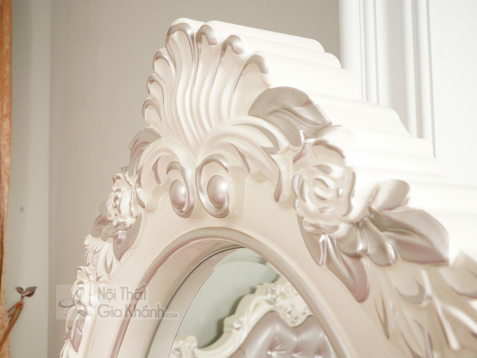 Kệ gương đứng độc đáo, phong cách Pháp KG8801H