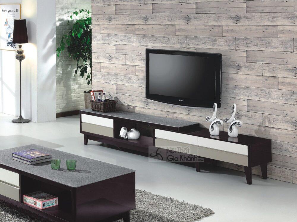 Xem ngay kích thước kệ tivi gỗ hiện đại và tân cổ điển chuẩn mới 2021