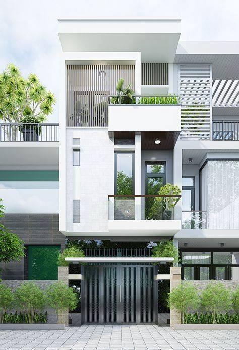 Những mẫu mặt tiền nhà phố đẹp ngất ngây - mau mat tien nha dep 3