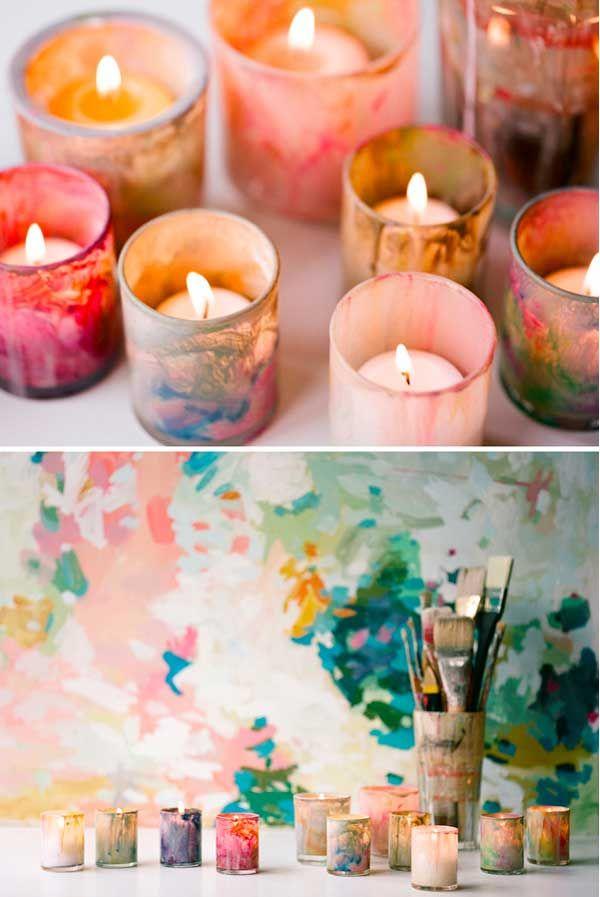 Trang Trí Bàn Cưới Bằng Hoa Nhiều Màu Sắc