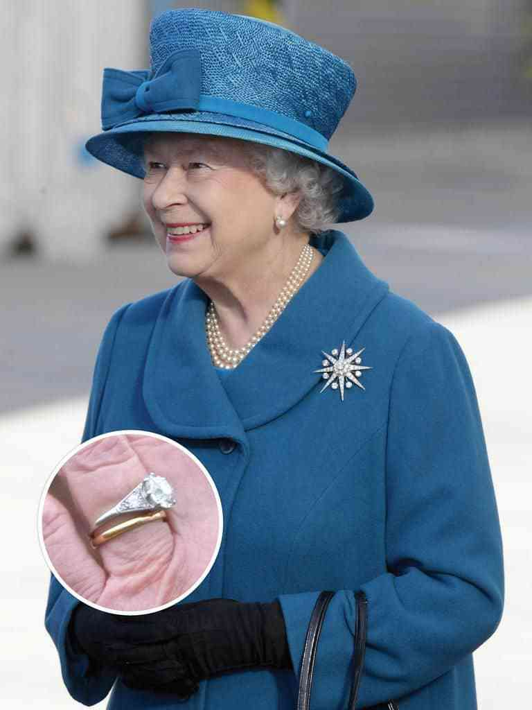 Những Chiếc Nhẫn Cưới Đẹp Nhất Của Nữ HoàngElizabeth Ii