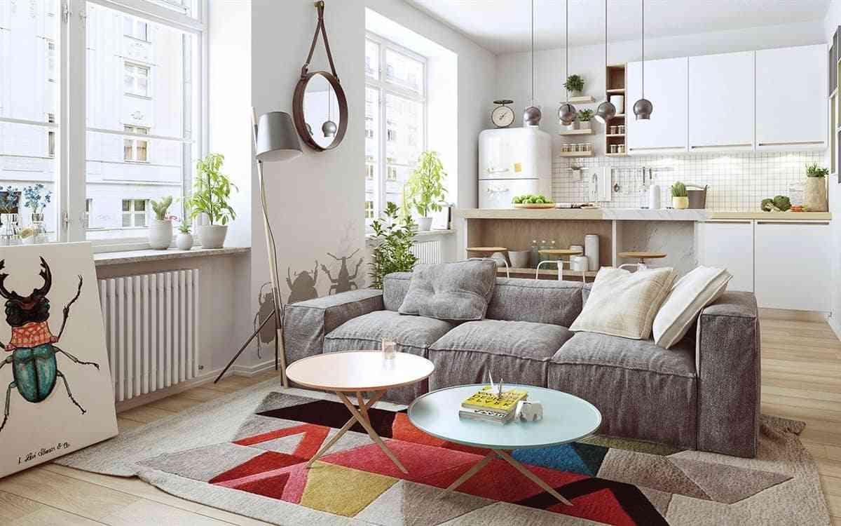 Thiết kế nội thất phòng khách - noi that nha o 2 1