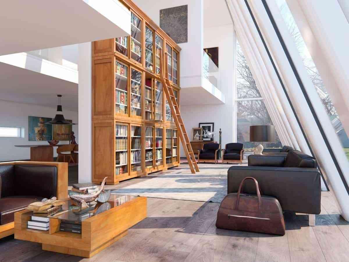 Showroom Noi That Nhap Khau Huge Bookcase