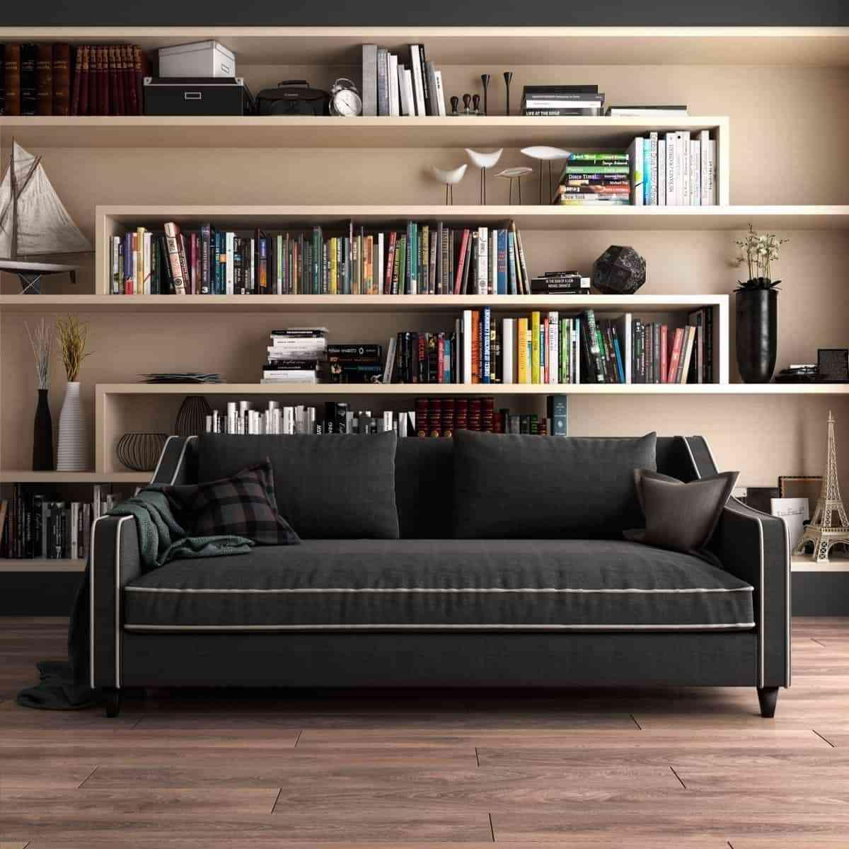 Showroom Noi That Nhap Khau Modern Bookcase