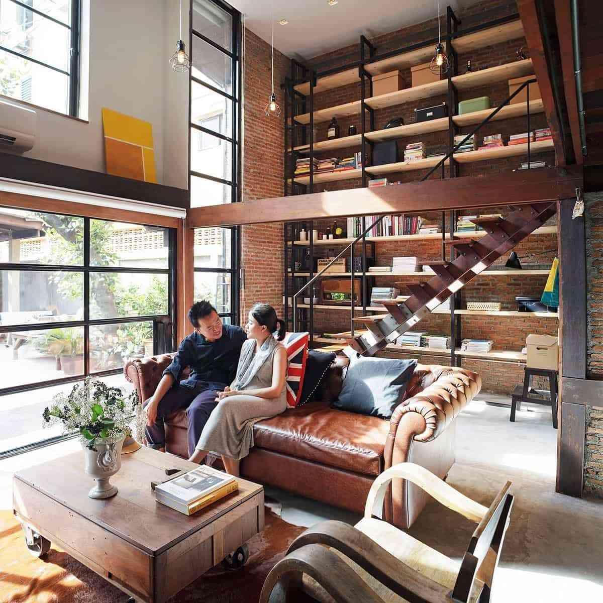 Showroom Noi That Nhap Khau Understair Home Library