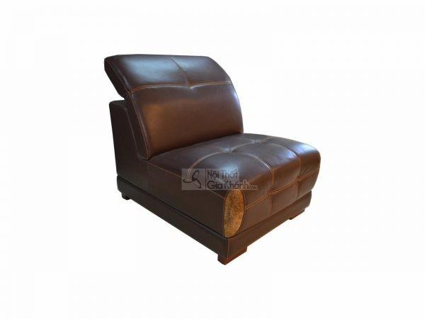 Băng Đơn Sofa Hiện Đại Màu Nâu Cafe Mã 6166Sfd