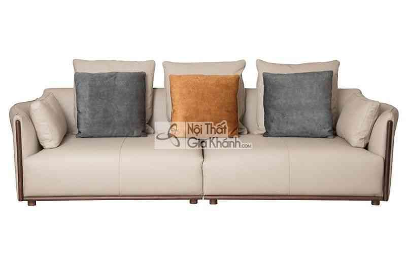 Sofa Băng 4 Da Phong Cách Ý 1909Sf-4