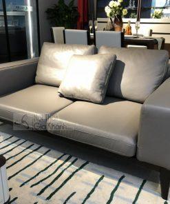 Sofa Da Phòng Khách Sang Trọng 1808Sf