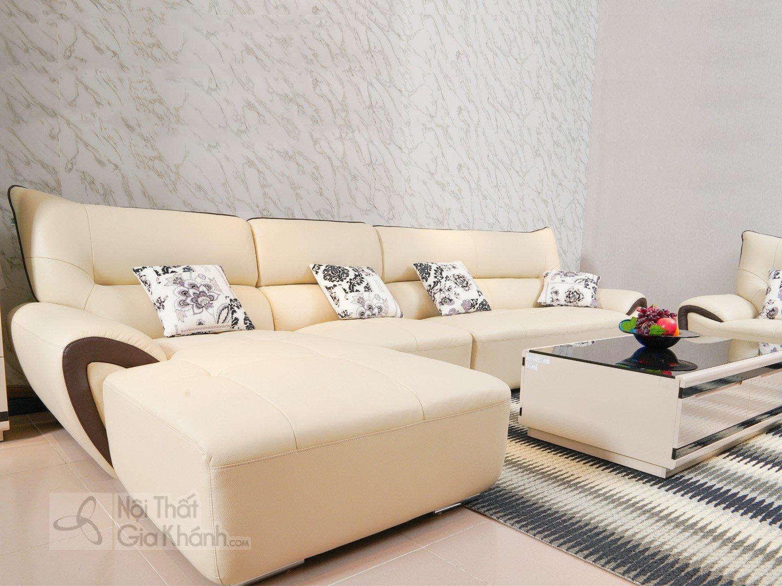 Bộ Sofa Cao Cấp 2 Băng Bằng Da Hiện Đại Êm Ái Sp3334-2