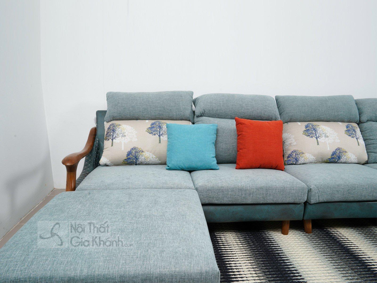 sofa hien dai MR802C SF 3200x1830x790 1 - SOFA VÀ ĐÔN NỈ KHUNG GỖ HIỆN ĐẠI MR802C-SF