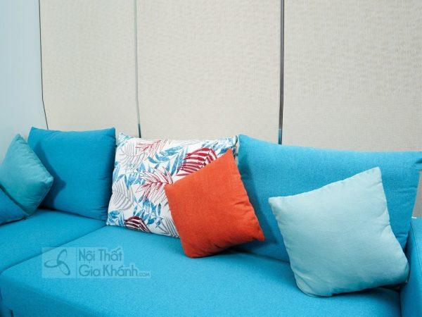Sofa Cùng Đôn Phòng Khách Màu Xanh Tươi Sáng Mr825E-Sf