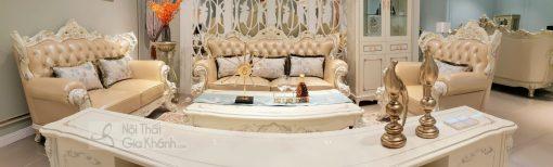 Sofa (Salon) Tân Cổ Điển Đẳng Cấp Hoàng Gia H963Sf