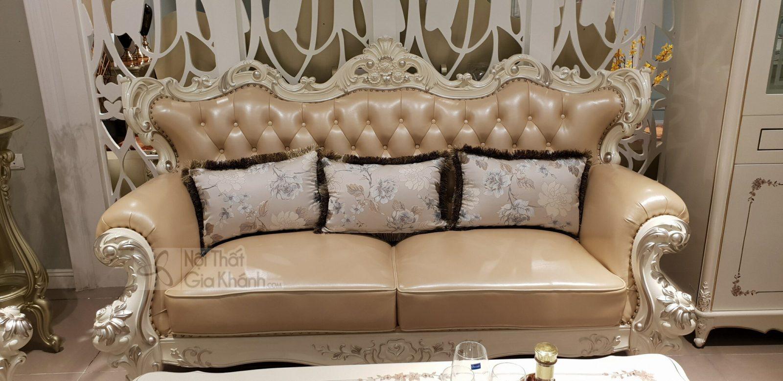sofa tan co dien H963SF 3 - Sofa (salon) tân cổ điển đẳng cấp hoàng gia H963SF