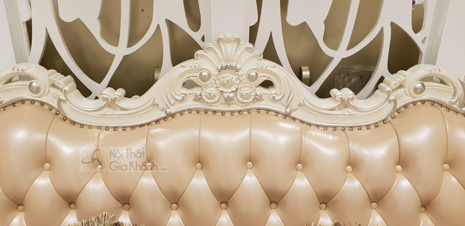 sofa tan co dien H963SF 5 - Sofa (salon) tân cổ điển đẳng cấp hoàng gia H963SF