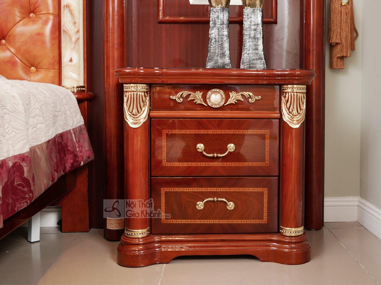 Tủ đầu giường gỗ nhập khẩu  TA509