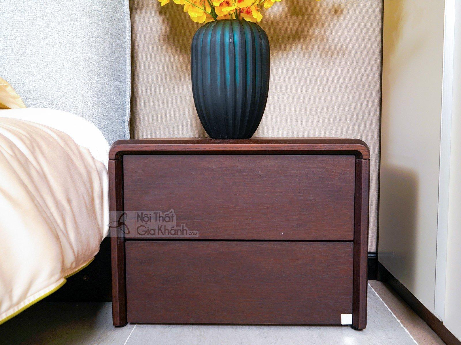 Tủ gỗ để đầu giường hiện đại TA1802
