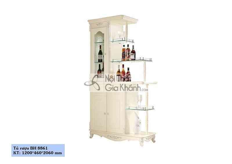 Tủ Rượu Hai Mặt Tân Cổ Điển Bh8861Tr