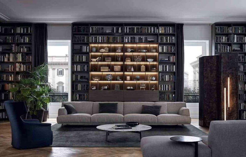 Top những mẫu tủ sách đẹp trang trí phòng khách nhà bạn