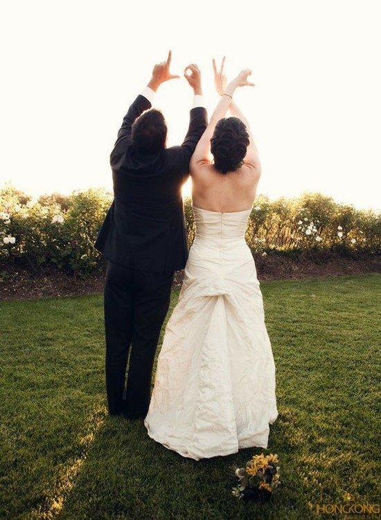 10 ý tưởng chụp ảnh cưới độc lạ cho các cặp đôi - xep nang